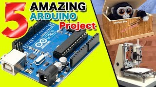 5 AMAZING Arduino project DIY