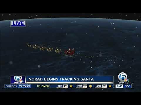 Santa tracker still running despite government shutdown