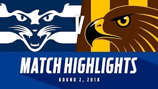 Match Highlights: Geelong v Hawthorn | Round 2, 2018 | AFL