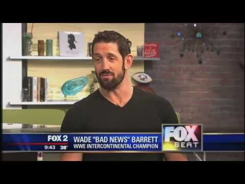 """WWE Intercontinental Champion Wade Barrett, aka """"Bad News Barrett"""""""