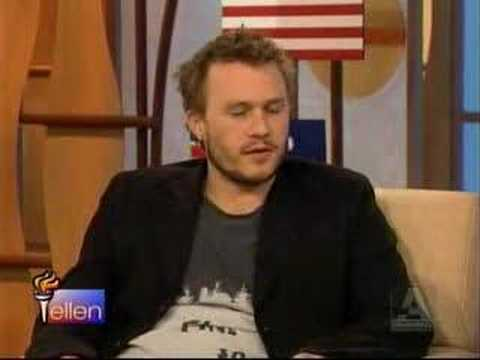Heath Ledger on Ellen