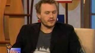 Heath Ledger on Ellen
