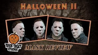Halloween II Michael Myers Full Head and Face Mask Review - Trick or Treat Studios