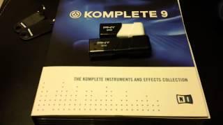 Komplete 9 Install from USB Key Drive