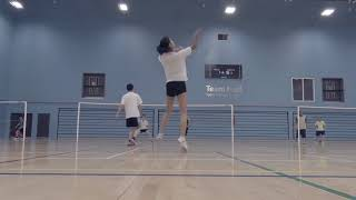Tim's badminton