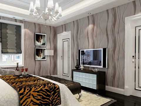 contemporary bedroom wallpaper - modern wallpaper for living room ...
