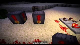 Fireworks Mod Test HAPPY NEW YEAR  - Minecraft