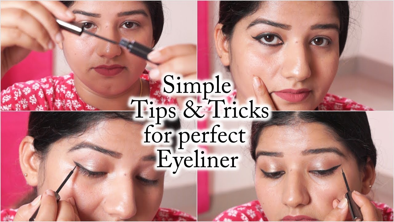 How to apply eyeliner on small eyes/How to apply eyeliner perfectly/simple  tips & tricks