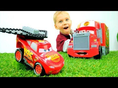 Машинки Тачки: Маквин прокачался. Игры для мальчиков