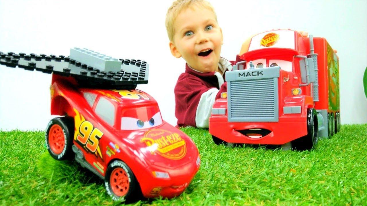 Машинки Тачки: Маквин прокачался. Игры для мальчиков - YouTube