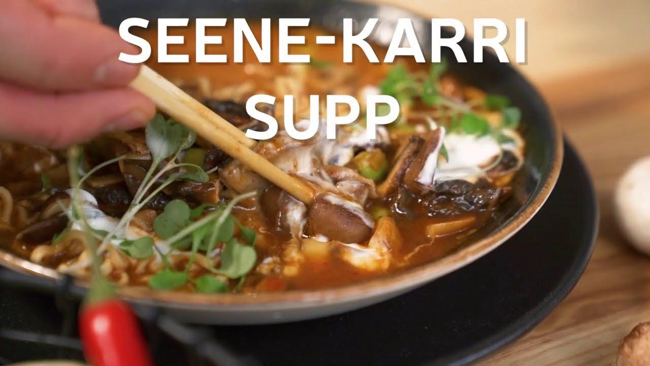 Seene-karri supp