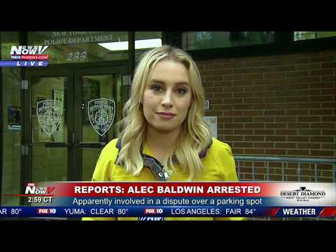ALEC BALDWIN ARRESTED: Allegedly punched man during parking spot spat FNN