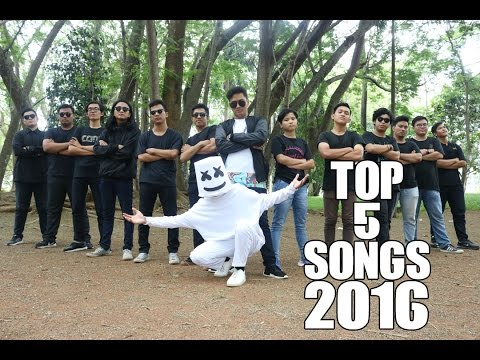 TOP 5 SONGS 2016 (BEATBOX COVER)