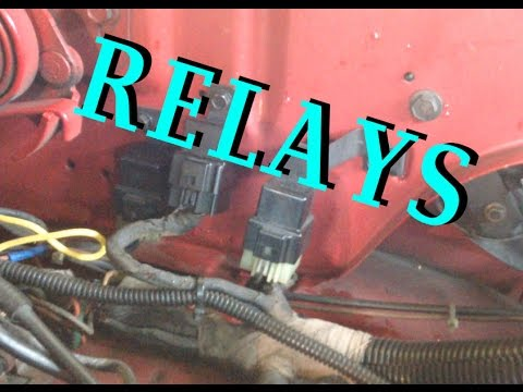 Starter Relay Replacement - Dodge w250 - YouTube