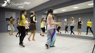 Уроки танцев. Танцуем Латину соло. #Нижневартовск танцует