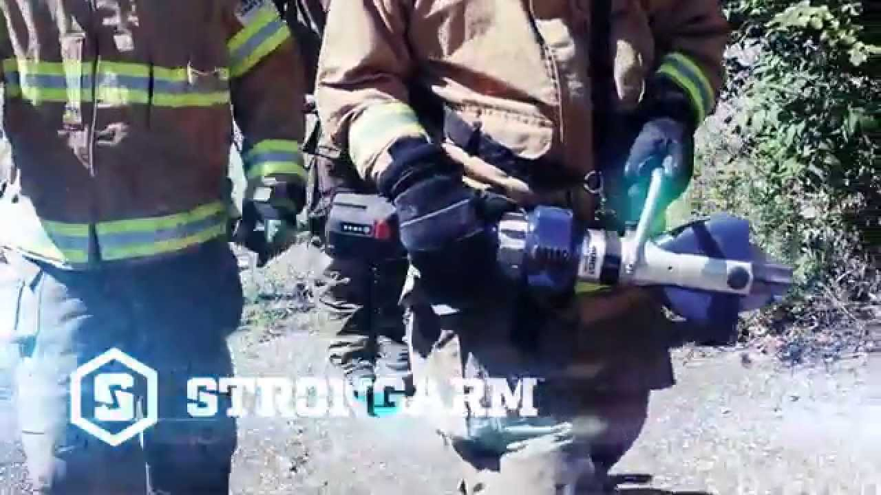 Video: Hurst Jaws of Life® Introduces StrongArm™ : Fire Rescue