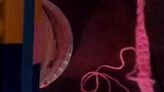 Видео урок 2. Учимся вязать столбики( ряды).