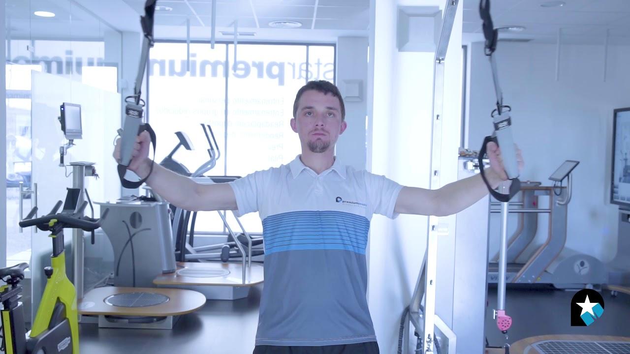 ejercicios para hombros trx