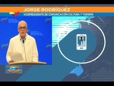 Reporte Coronavirus Venezuela, 16/07/2020: Jorge Rodríguez informó 426 casos y 4 fallecidos