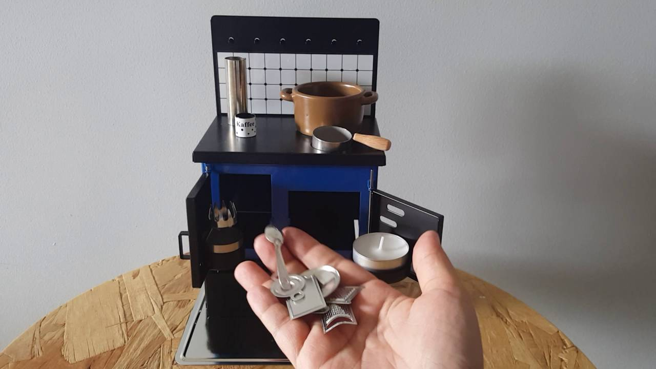 Miniature Kitchen Stove For Real Mini Cooking Youtube