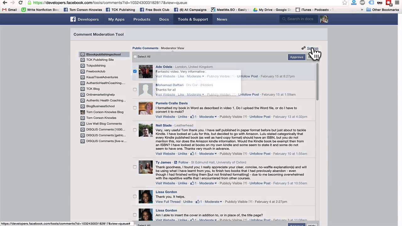 How to Check and Moderate Facebook Comments On All Your Websites and Blog  Posts