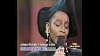 Watch Johnny Mathis Better Together video