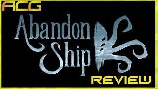 Abandon Ship Review
