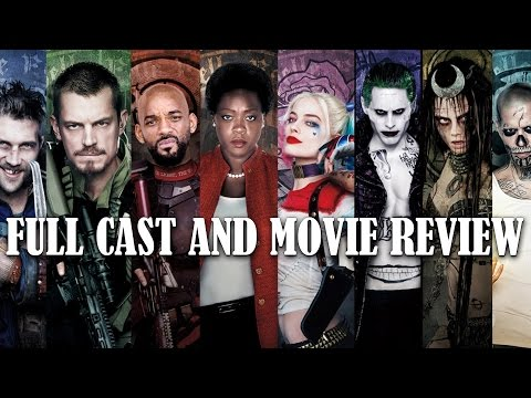 Suicide Squad - Full cast and movie review!