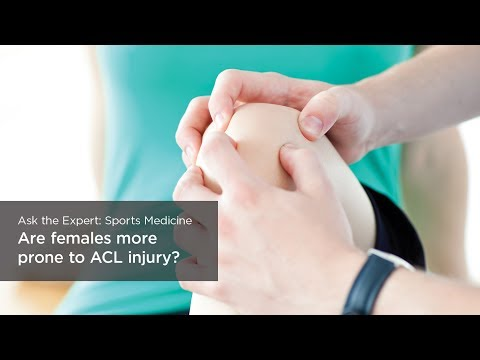 Are females more prone to ACL injury?