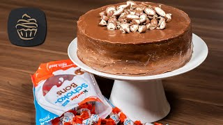 Kinder Schokobons Torte 😍 - Leckere Geburtstagstorte | Ostertorte