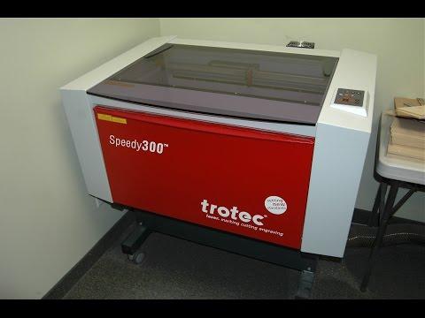 Trotec Laser Engraver, Speedy 300