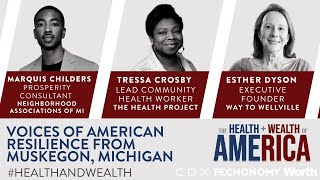 Esther Dyson and Voices of American Resilience from Muskegon, Michigan