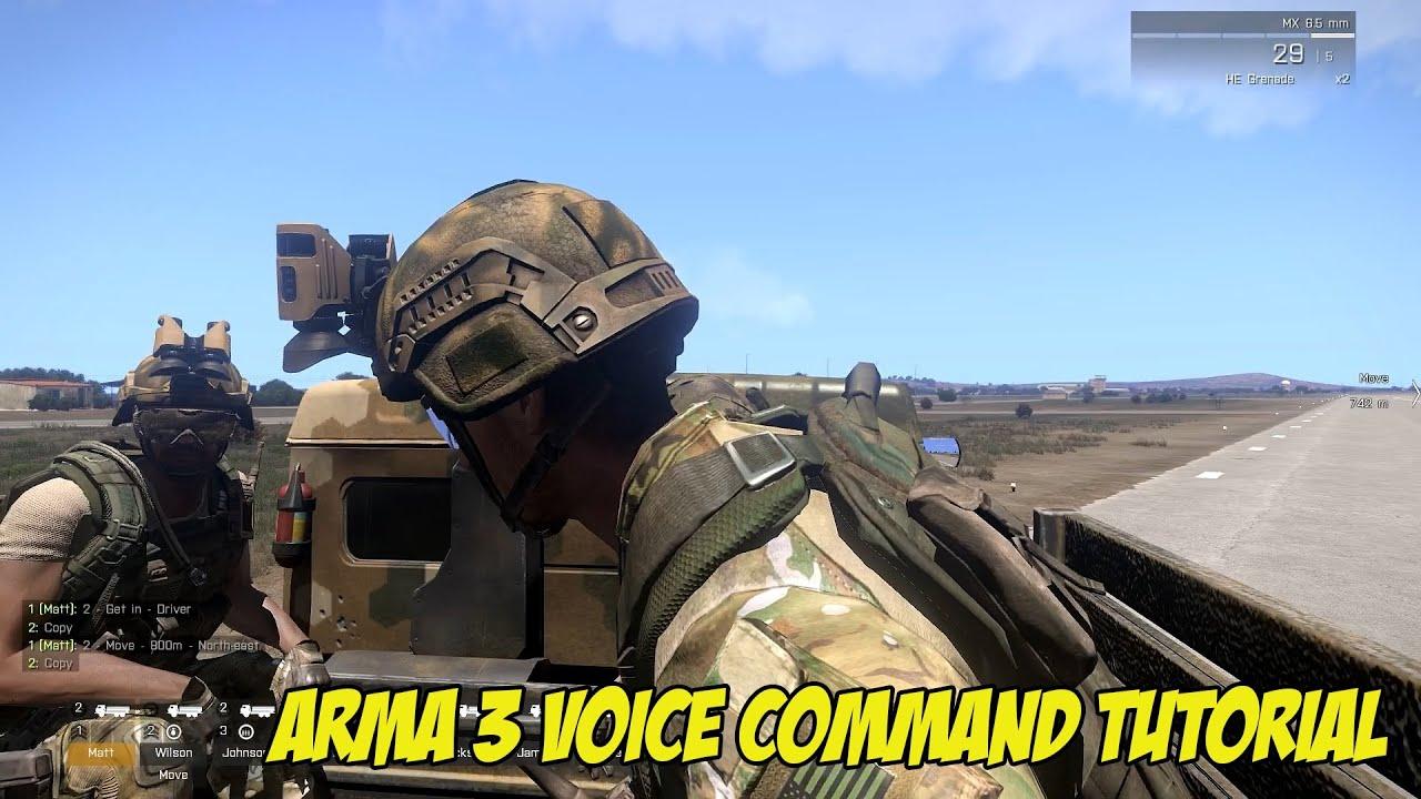 arma 3 ai voice commands