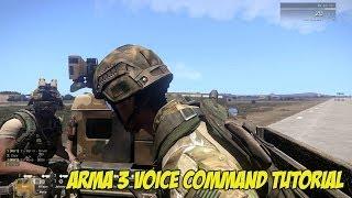Arma 3 Voice Command Set Up  Tutorial