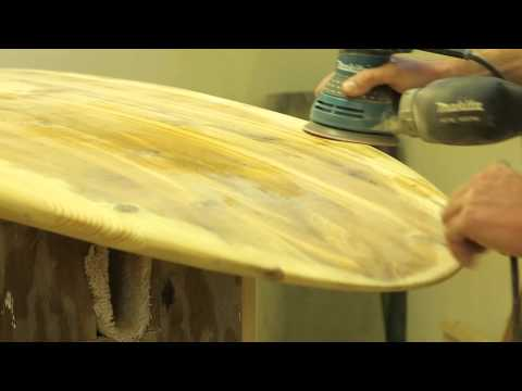 Water on Wood: Wooden Surfboard Maker Charlie Taylor