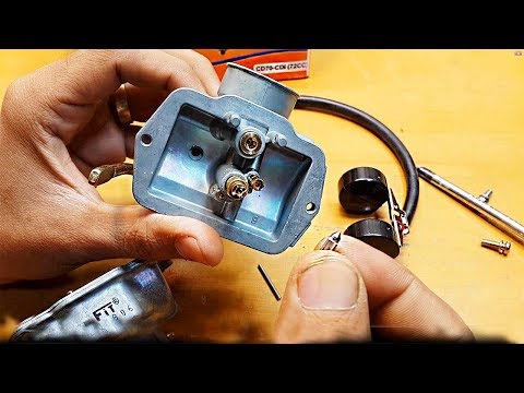 How To Install And Set New Carburetor In CD-70 Motorcycle || Complete A TO Z