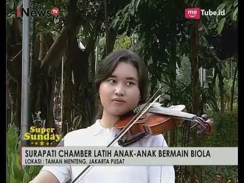 Surapati Chamber Melatih Anak Bermain Biola Part 05 - iNews Pagi Super Sunday 23/07