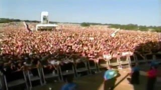Jimmy Page & Robert Plant - Gallows Pole - Glastonbury 95