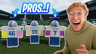 So I Had Some Roblox Football PROS Carry Me...