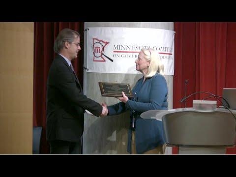 Finnegan Freedom Of Information Award Winner Honored