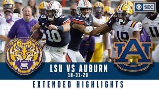 LSU Vs. Auburn: Extended Highlights | CBS Sports HQ