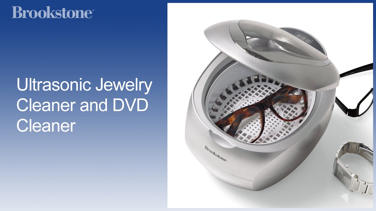 ultrasonic jewelry cleaner and dvd cleaner youtube