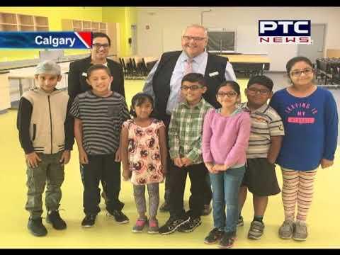 Family of Late MLA Manmeet Singh Bhullar Gets Tour Of School Bearing His Name in Calgary