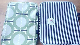 Orla Kiely Cosmetic Bag vs. Happy Planner Storage Bag