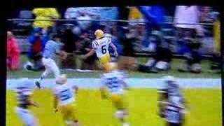 LSU football vs South Carolina SC fake FG TD Colt David