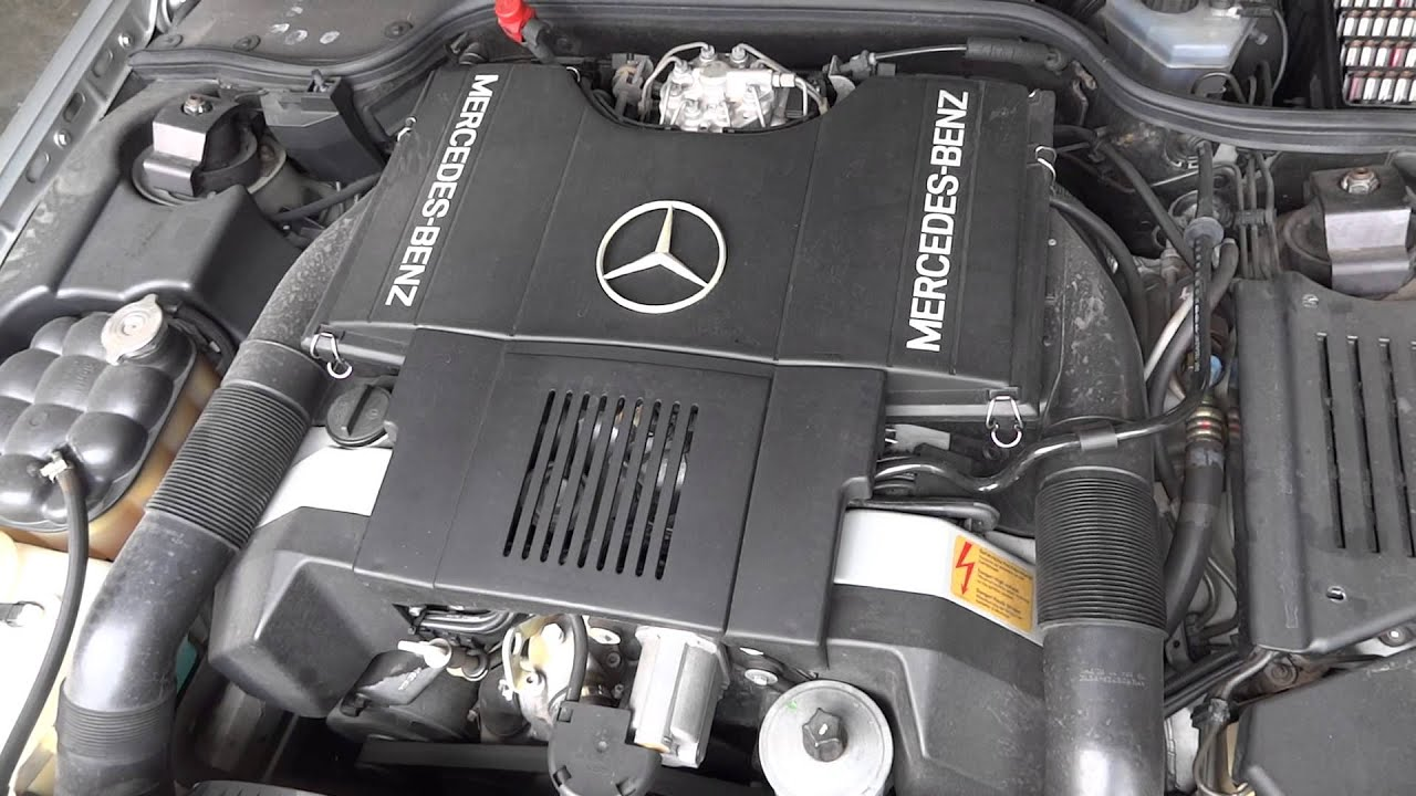 1991 mercedes benz 500sl used 5 0l engine with 55 606 for Used mercedes benz engine