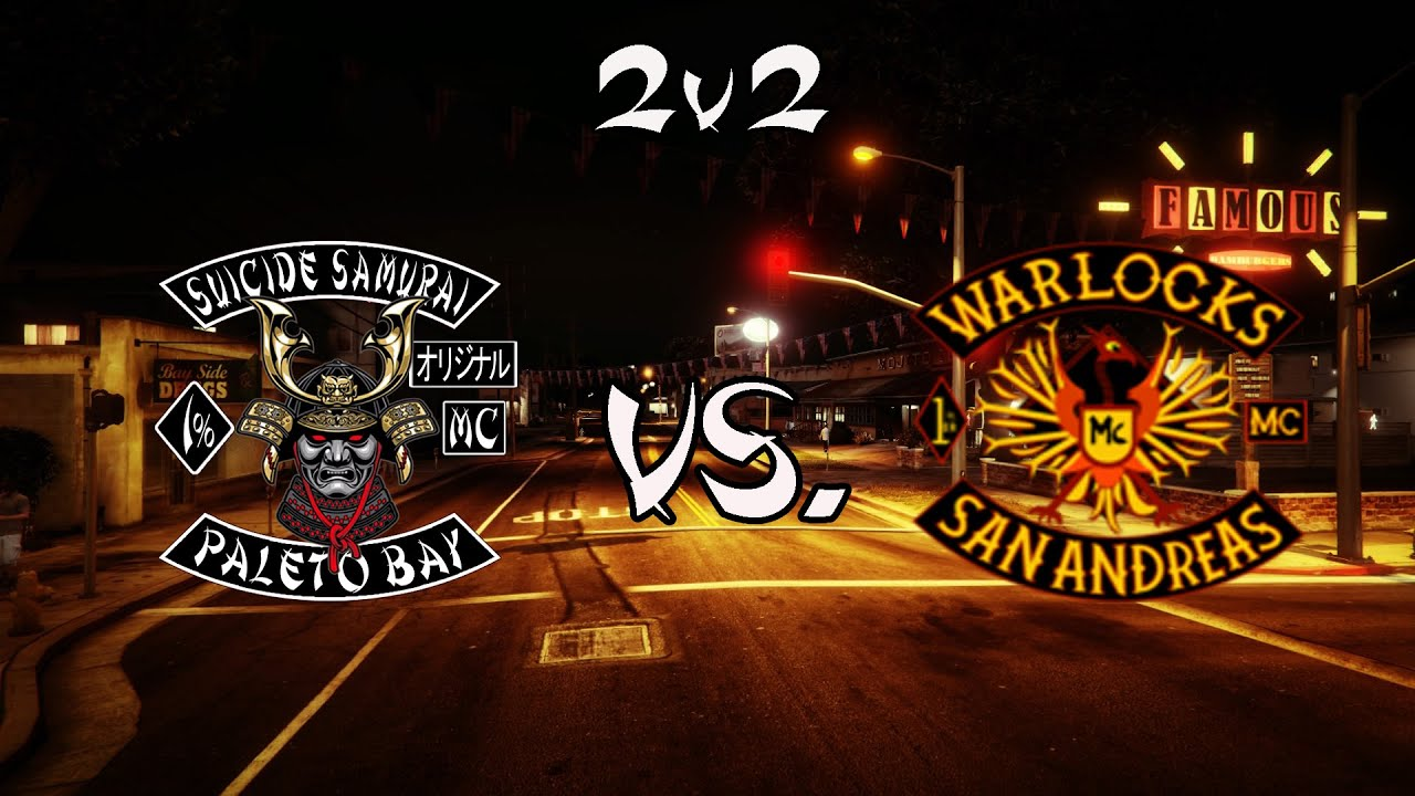 2v2 Suicide Samurai MC {BUKE} vs  Warlocks MC PSN {WFFW} (Crew Battle) by  Suicide Samurai MC