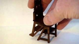 Miniature Masonic Library Chair.wmv