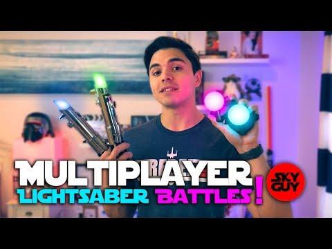*First Look* Multiplayer Lightsaber Battles! | Star Wars Jedi Challenges