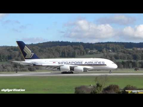 Singapore Airlines A380 LOUD Engine Spool Up